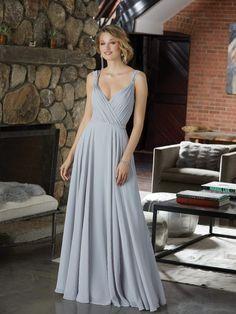 Figure Flattering Chiffon Bridesmaid Dress with Beaded Detail - Morilee 25ada3dea72e