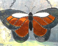 Stained Glass Butterfly Suncatcher - Handcrafted in Tennessee USA