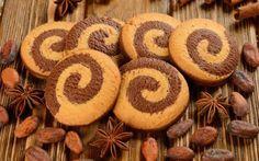 Biscuits vanille chocolat