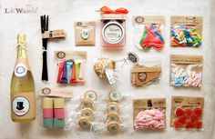 Kit for Birthday Box Party In A Box, Party Kit, Party Packs, Birthday Box, Birthday Gifts, Love Gifts, Gifts For Him, Craft Gifts, Diy Gifts