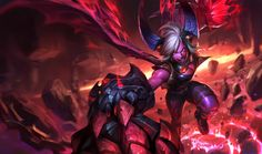 Vi -demoniaca | League of Legends