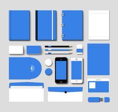 Corporate Branding Mockup Vol.1 (PSD) by softarea.deviantart.com on @DeviantArt
