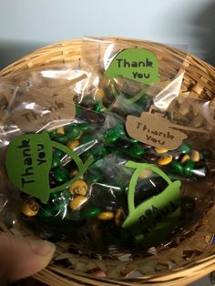 Army party Favor - camo m&ms