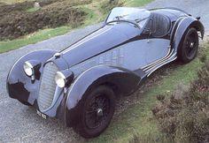 Alfa romeo 8C 2900  Herdmann Wildenburg1936