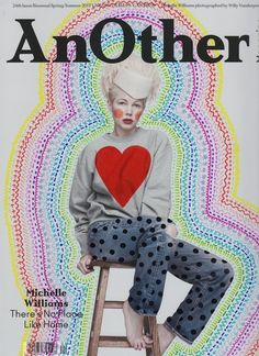 "Illustrations On Fashion Magazines Covers Based in New York, artist Ana Strumpf is the author of the series ""Re.Cover"" in which she customizes in her way magazine covers such as W, Interview, Dazed & Confused, Esquire, Vogue and also I-D. With Sharpie and DecoColor pens, she draws on models' bodies, well-known faces of actors, musicians and sportive or politic icons."