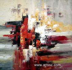 Abstract Art Paintings Canvas | Abstract Oil Painting on Canvas (09) - China Abstract oil painting ...