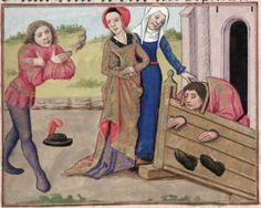 [folio 107r] MS. Douce 195 (Le roman de la rose) XV cnt. Robinet Testard  http://romandelarose.org/#browse;Douce195