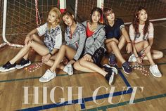4Minute // High Cut