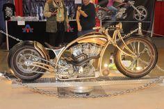 Cool custom bike.