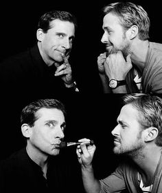 Steve Carell and Ryan Gosling