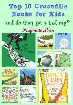 Top 10 Crocodile Books for Kids (and how are they portrayed?) :: PragmaticMom