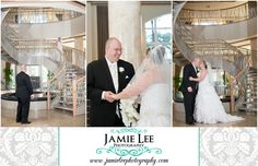 The Westin at Marina Village | Cape Coral Wedding Photographer | Jamie Lee Photography | Bride and Groom First Look Before Ceremony