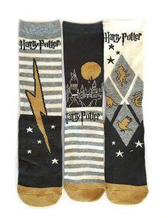 Ladies Harry Potter Socks UK Size 4-8 Eur 37-42