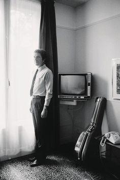 A New York, à l'hôtel Royal Turn en 1981.