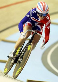 Victoria Louise Pendleton - British track cyclist