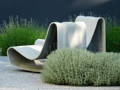 Loop Chair, 79x54xH61 cm, Grijs - Eternit® Meubilair - Tuinmeubilair - DeTuinwebshop.nl