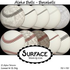 Surface - Alpha Balls - Baseball Contact | Flickr - Photo Sharing!
