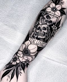 Spooky Tattoos, Skeleton Tattoos, Dope Tattoos, Badass Tattoos, Pretty Tattoos, Unique Tattoos, Leg Tattoos, Beautiful Tattoos, Body Art Tattoos