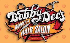 FireBrands Design Group - Branding by Russell Halsted for Bobby Dee, Barber & Hair Salon