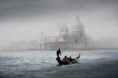 Verso la Salute... (Venezia) By Giuseppe Desideri