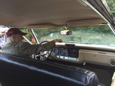 """#JerryWanek  """"Tom Wright at the wheel, great ride from great director"""