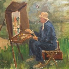 The Art of Winston Churchill - The Churchill Project - Hillsdale College Churchill Quotes, Winston Churchill, Churchill Paintings, Hillsdale College, Cultura General, Historical Quotes, Coat Of Arms, Painting On Wood, Portrait Photography