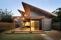 1000 images about skillion roof homes on pinterest for Beach house plans with hip roof