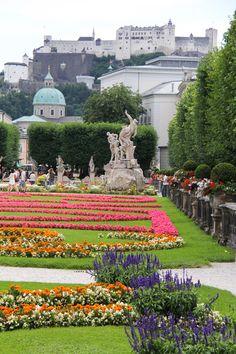 explore. dream. discover.: {Salzburg, Austria // Mirabell Gardens}