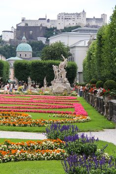 Located in Salzburg-Austria, Mirabell Gardens provide a beautiful surrounds to the castle of the same name. The wonderful garden inspired H.Stern to create the Mirabell jewelry.