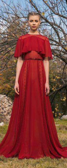 Georges Hobeika Pre-Fall 2018 - Ready-to-Wear - http://www.orientpalms.com/Georges-Hobeika-7002