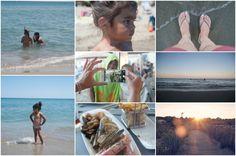 Op het strand met het gezin. Vacansoleil-blogger Jeske verbleef op camping La…
