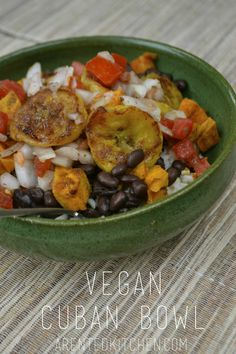 Vegan cubanbowl