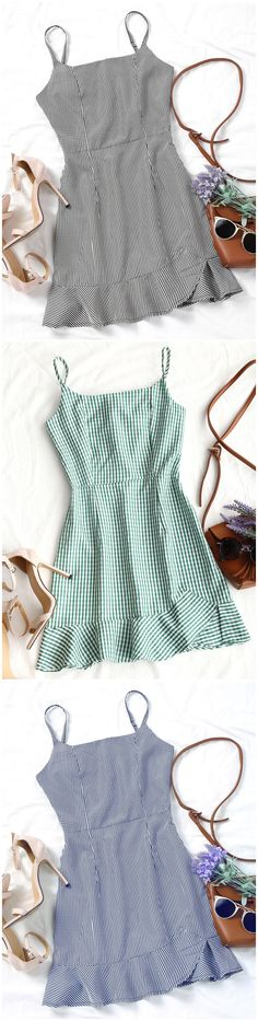 Up to 80% OFF! Back Zip Checked Ruffles Mini Dress. #Zaful #Dress Zaful,zaful outfits,zaful dresses,spring outfits,summer dresses,Valentine's Day,valentines day ideas,valentines outfits,cute,casual,classy,fashion,style,dress,long dress,maxi dress,mini dress,long sleeve dress,flounced dress,vintage dress,casual dress,lace dress,boho dress, flower dresses,maxi dresses,evening dresses,floral dresses,long dress,party dress,bohemian dresses,floral dress @zaful Extra 10% OFF Code:ZF2017