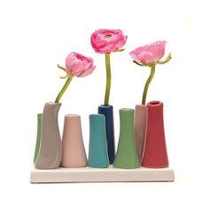 Tube a Rose Vases