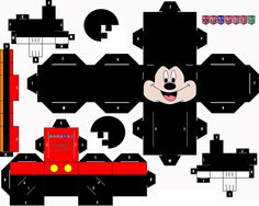"""DIY (Paper Craft) • """"Mickey Mouse"""" by: Manaies"""