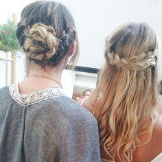Tresses.  #boho#braid#hair#tresses#blonde#curlsecret