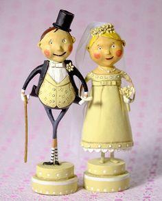 Lori Mitchell Wedding Bell & Lucky Fella Bride & Groom