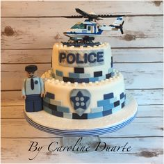 Lego police cake                                                       …