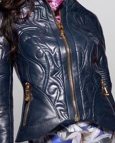 Daniele Bardis AW 14/15 collection (Vega jacket close up)