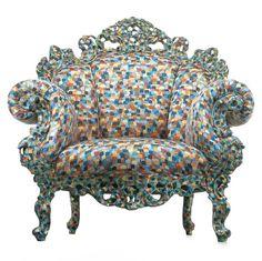 Mendini's Proust chair, 1978. Image courtesy of Cappellini