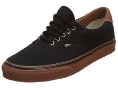 Vans Era 59 Life Mens VN-0ZMS-F7S Black Gum Casual Shoes Sneakers Size 5.5