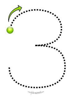 Numbers handwriting for preschool Preschool Writing, Numbers Preschool, Preschool Learning Activities, Learning Numbers, Math Numbers, Kids Learning, English Worksheets For Kids, Kindergarten Math Worksheets, Math For Kids