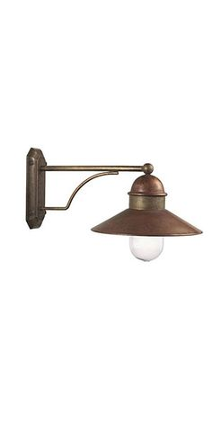 Borgo | Outdoor suspension lamps, appliques, wall lamps and lampposts made of brass and copper