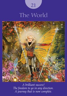 Oracle Card The World | Doreen Virtue - Official Angel Therapy Website