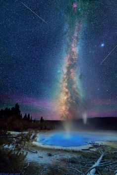 The Milky Way Over Yellowstone Will Take Your Breath Away.