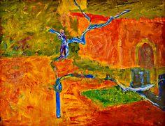 "Yury Ermolenko, ""UNSOCIABLE BOY ON THE TREE"", 2003, oil on canvas, 70x80 cm. #YuryErmolenko #еrmolenko #ЮрийЕрмоленко #ермоленко #yuryermolenko #єрмоленкоюрiй #ermolenkoyury #ермоленкоюрий #юрийермоленко #юрийермоленкохудожник #юрiйєрмоленко #ЮрiйЄрмоленко #єрмоленко #rapanstudio #modernart #fineart #contemporaryart #painting #art #picture #живопись #texture #landscape #пейзаж #scenery #colorful #современноеискусство #живопис #малярство #contemporaryartgallery #hot #unsociable #MFA #boy…"