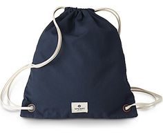 Pack your essentials and get going with the Sling Backpack. This convenient drawstring style is essential for beachside afternoons with Sperry blue gromme Sling Backpack, Drawstring Backpack, Sperry Top Sider, Sperrys, Backpacks, Blue, Bags, Drawstring Backpack Tutorial, Women's Backpack