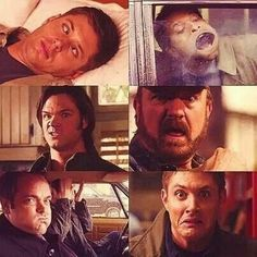 Oh the beautiful faces of Supernatural