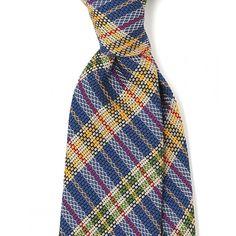 Untipped Woven Grenadine 7cm Silk Tie - Ties - Drakes London