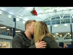 Mistletoe: The Social Experiment (Would You Kiss a Stranger?) hilarious!!!